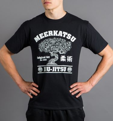 Bonsai T-Shirt (Black) - Front