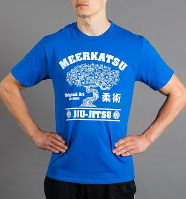 Bonsai T-Shirt (Blue) - Front